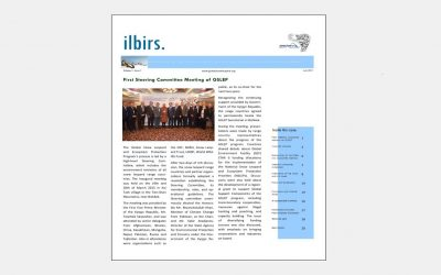 First volume of Ilbirs., newsletter of the Global Snow Leopard and Ecosystem Protection Program